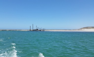 Murchison River Ocean siltation (Kalbarri, WA)
